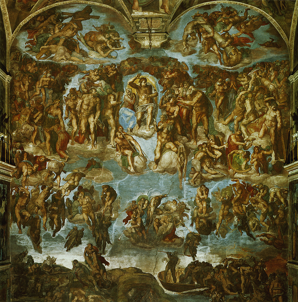 Michelangelo S Painting On The Creation