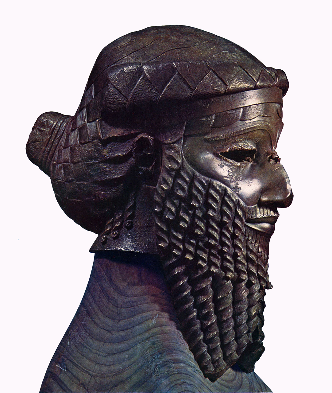 akkadian mask Sargon of akkad, who came into power in the akkadian period, the rise of human sovereigns led to the creation of royal portraits that glorified earthly rulers.